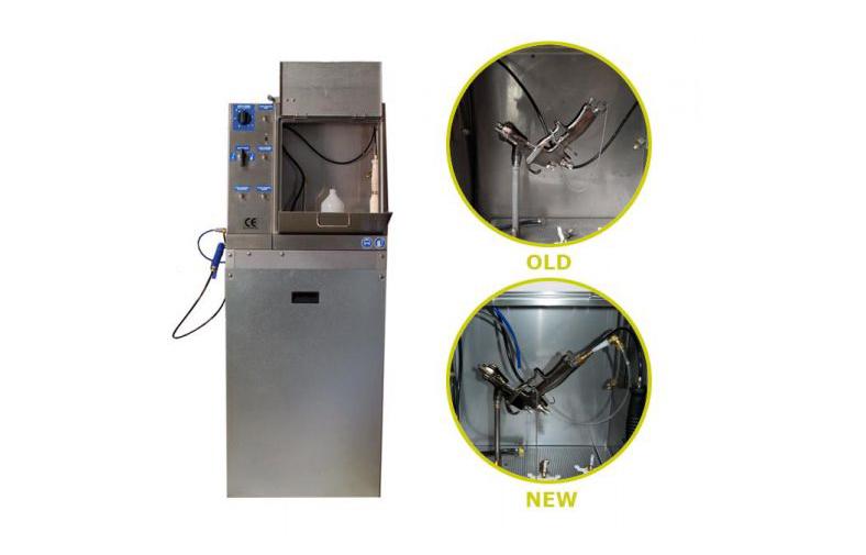 AGC 20-40/ Finixa автоматическая мойка для краскопультов