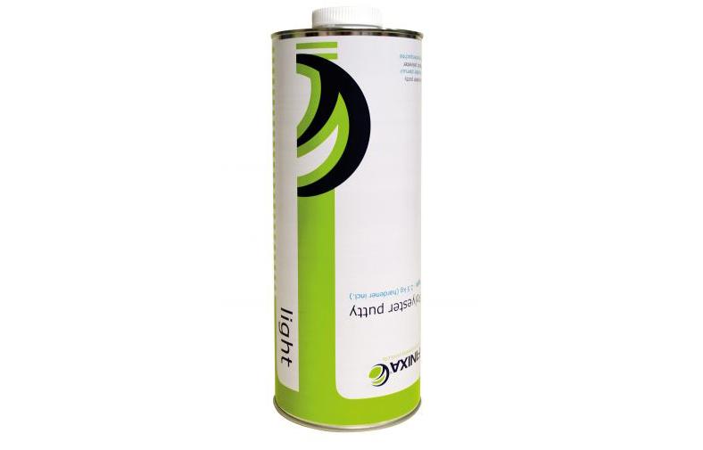 Полиэфирная шпатлёвка Finixa 2.5 кг + отвердитель — лёгкая — УЛУЧШЕННОЕ GAP 35