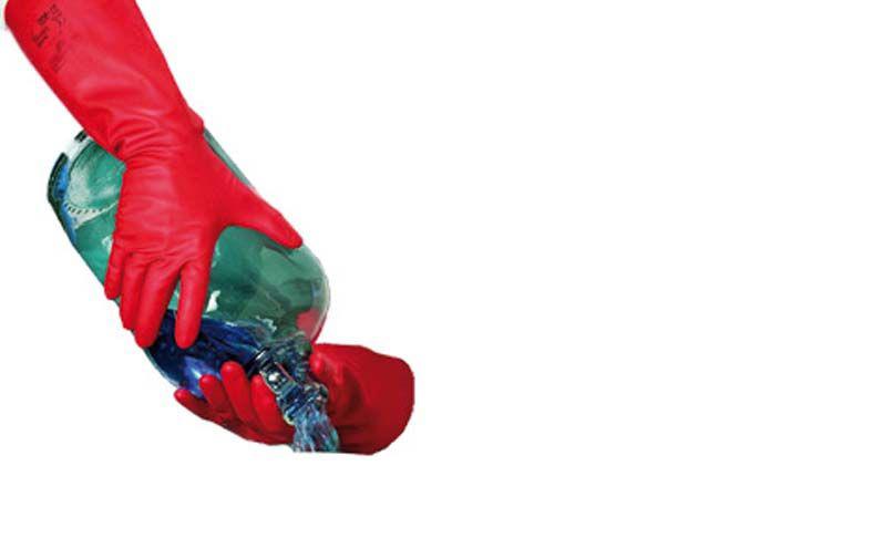 GLD/ Solvex нитриловые перчатки, красные