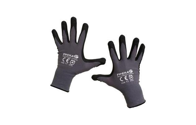 GLMB/ Нитриловые перчатки Finixa, покрытые микропеной