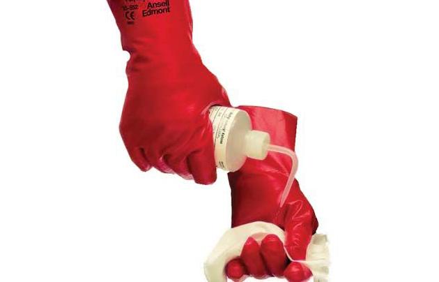 GLP/ Solvex PVA перчатки, красные