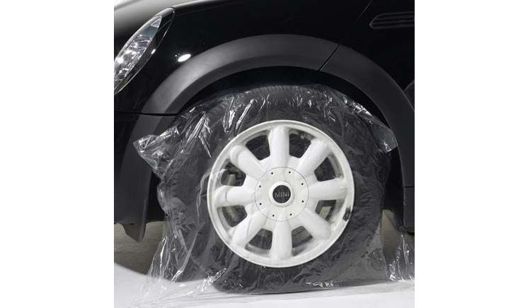 PLA 81/ Чехлы для колёс 20мкм 250 шт — 70 x 34.5 x 90см