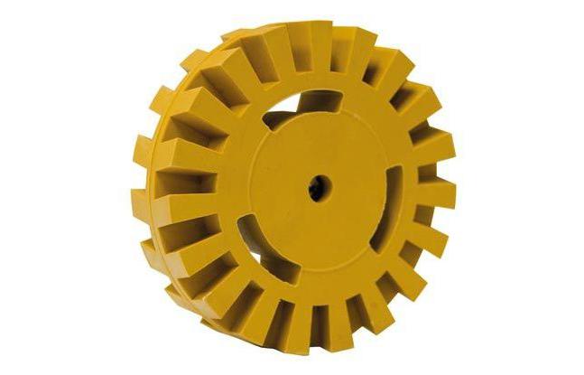 PRD 05/ Волнообразный диск для снятия наклеек на Profit disc — Ø 100мм x 26мм