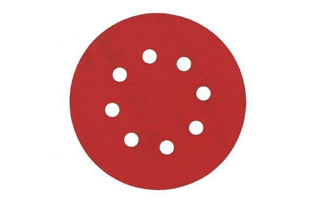 SPDD/ Finixa абразивный диск Ø 125mm — 8 отверстий (НОВИНКА SPDD)