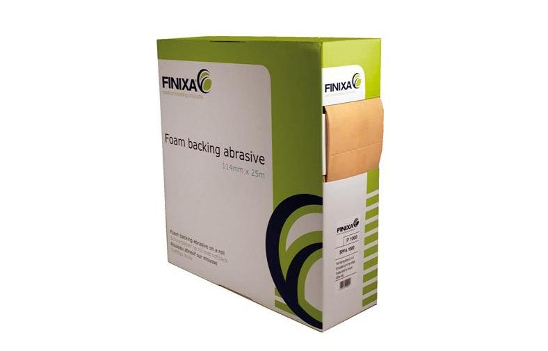 SPFA/ Finixa абразивная бумага 114mm x 25m — softback