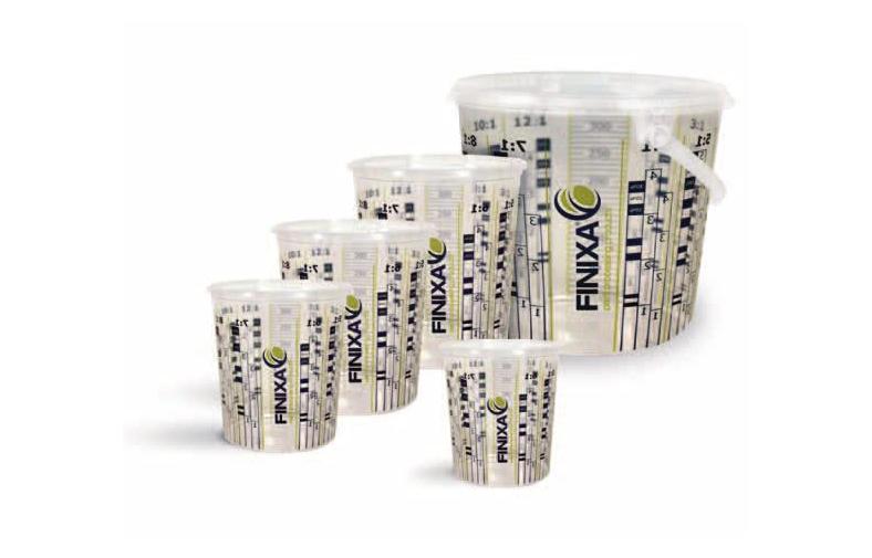 Finixa стаканчики для подготовки краски (тара мерная) (MCP, MCB, MCU)