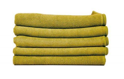 POL 40/ Finixa салфетка из микрофибры, зелёная, 40x40см — 5шт
